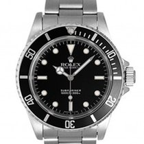 Rolex Submariner Stainless Steel Black Dial and Bezel 14060M