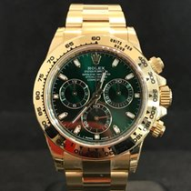 Rolex Daytona Gold Green Dial NEU + EU - Ref.116508