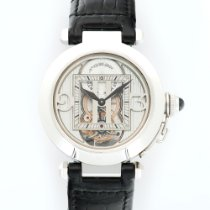 Cartier Pasha White Gold Skeleton Tourbillon Ref. 2542