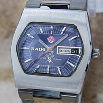 Rado Silver Sabre Swiss Made Vintage Automatic Mens 34mm 1960s...