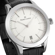 Maurice Lacroix Les Classiques Silber Edelstahl Leder UVP 740...