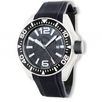 Zannetti Piranha Full Black Stahl Automatik 51mm