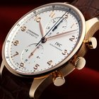 IWC [APRIL SPECIAL] Portugieser Chronograph Rose Gold IW371480