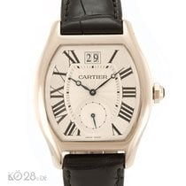 Cartier NEW -45% Cartier Tortue XL W1556233 Whitegold ø 38x48 mm