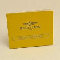 Breitling Colt Oceane Manual Info Booklet