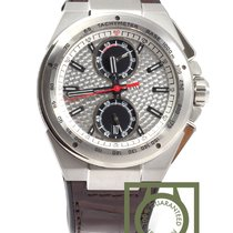 IWC Ingenieur Chronograph Silberpfeil Crocodile Skin Limited NEW