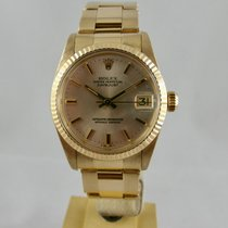 Rolex Datejust 31mm Medium 18kGold,oro Full set