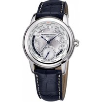 Frederique Constant Men's FC-718WM4H6 Manufacture Worldtimer