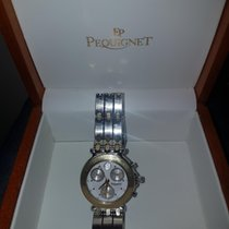 Pequignet Moorea  Chronograph steel/gold 1311418