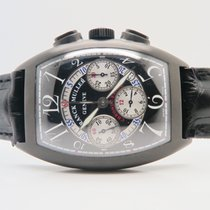 Franck Muller Cintree Curvex Chronograph Black Ref. 8880 CC AT