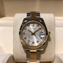Rolex Lady-Datejust 31mm Steel and Gold Diamond Dial B&P