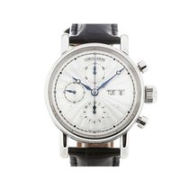 Chronoswiss CH-7543K-ENGL Sirius Chronograph Day Date in Steel...