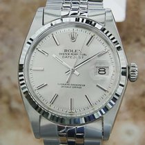 Rolex 1601 18k Gold And Stainless Steel Swiss 2576560 Serial...