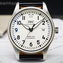 IWC IW327002 Mark XVIII Silver Dial SS (26432)