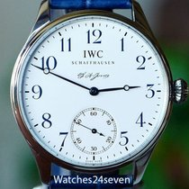 IWC Portuguese F.A. Jones Limited Edition Stainless Steel...