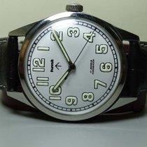 HMT Vintage Military HMT Winding 17 Jewels Steel Wrist Watch