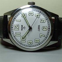 HMT Vintage Military HMT Winding 17 Jewels Steel Wrist Watch