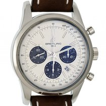 Breitling Transocean Chronograph Stahl Automatik 43mm
