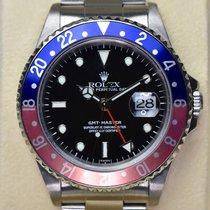 Rolex GMT Master, Pepsi, blau-rot, 2 Jahre Garantie