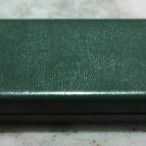 Marvin vintage green leather watch box rare