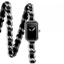 Chanel H3749 Premier Rock Black Dial Steel Ladies Watch