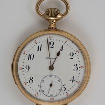 Dunand 1925 14k Yellow Gold Dunand Repeater Open Face Pocket...