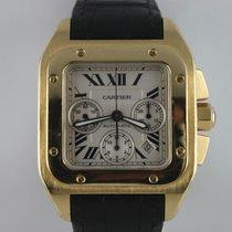 Cartier SANTOS 100 XL Chronograph W20096Y1 --251gr