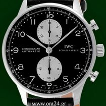 IWC Portuguese 41mm Automatic Chronograph Panda Dial