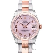Rolex Datejust Lady 31 Pink/18k rose gold 31mm Oyster - 178271