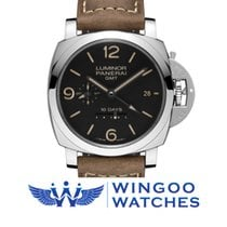 Panerai LUMINOR 1950 10 DAYS GMT AUTOMATIC ACCIAIO - 44MM Ref....