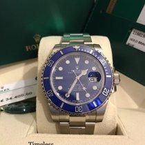 롤렉스 (Rolex) Rolex Submariner Oro Bianco Blue