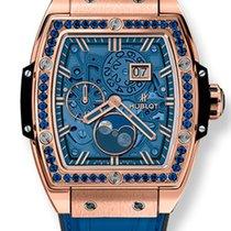 Hublot Spirit of Big Bang Moonphase Dark Blue 18K King Gold...