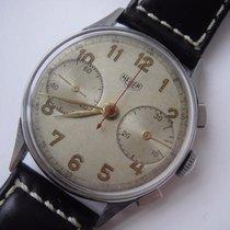 Heuer Pre Carrera Vintage Chronograph Manual Wind Valjoux  22
