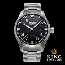 Alpina Startimer Automatic Pilot Stainless Steel Men's Watch