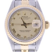 Rolex Datejust 26mm 69173 26 Millimeters Champagne Dial