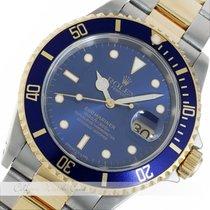 Rolex Submariner Date Stahl Gold 16613