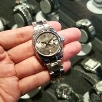 Rolex 178240 Rhodium Floral Motif Dial (888) Datejust 31mm
