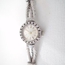 Art Deco beautiful 18 k solid white gold vintage watch,...