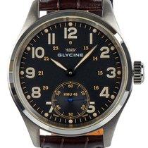 Glycine KMU 48 Kriegs Marine Uhren Manual Wind Steel Mens...