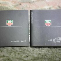 TAG Heuer vintage pair of booklets for  caliber 5 & 7