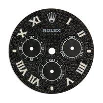 Rolex Daytona Black Diamond Pavé/White Roman Numerals Custom Dial