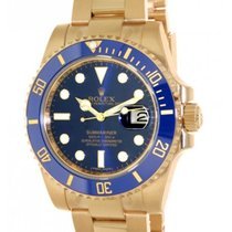 Rolex Submariner 116618lb Yellow Gold, 40mm