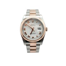 ロレックス (Rolex) 18K Rose Gold  & SS Rolex Datejust Watch 116231
