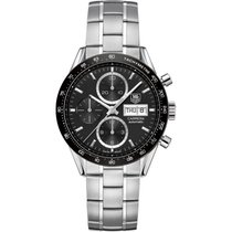 TAG Heuer Men's CV201AG.BA0725 Carrera Auto Watch