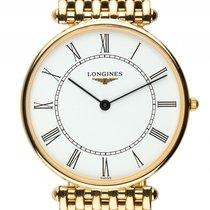 Longines Classique Extraflach 18kt Gelbgold Quarz Armband 18kt...