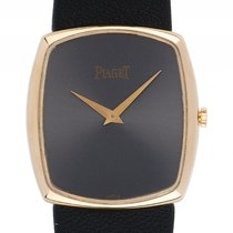 Piaget Classique Ultraflach 18kt Gelbgold Handaufzug 31x28mm...