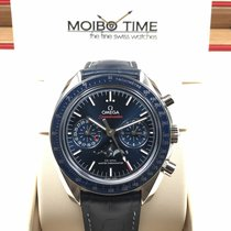 Omega SPEEDMASTER CO-AXIAL CHRONOGRAPH MOONPHASE 44.25mm BLUE NEW