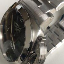 Panerai PAM 347 Luminor 1950 3 Days Black Dial GMT Automatic -...