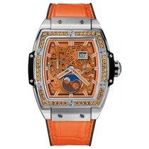 Hublot Spirit of Big Bang Moonphase Titanium Orange