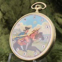 Cortébert automaton erotic pocket watch – around 1900